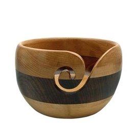 ESTELLE Beech and Acacia Striped Yarn Bowl