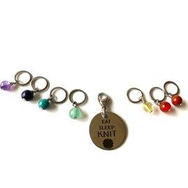 Sandra McClelland Jewelry Design Stitch Marker Sets