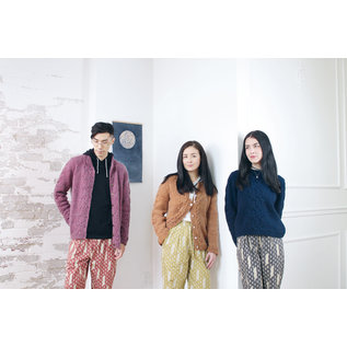 pompom quarterly Moon and Turtle Knitting Patterns with Variations by Kiyomi & Sachiko Burgin