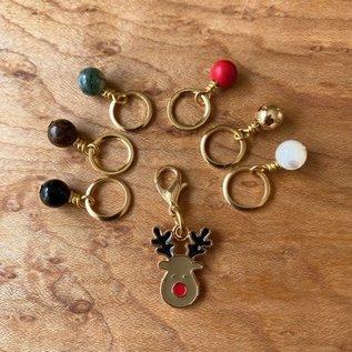 Sandra McClelland Jewelry Design Holiday Stitch Marker Sets