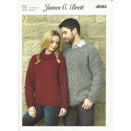 James C Brett James C Brett Pattern Leaflet JB363
