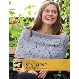Seapoint Lace Capelet Pattern Leaflet