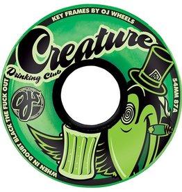 OJ OJ- Creature Drinking Club Keyframe- Green- 54mm- 87a- Wheels