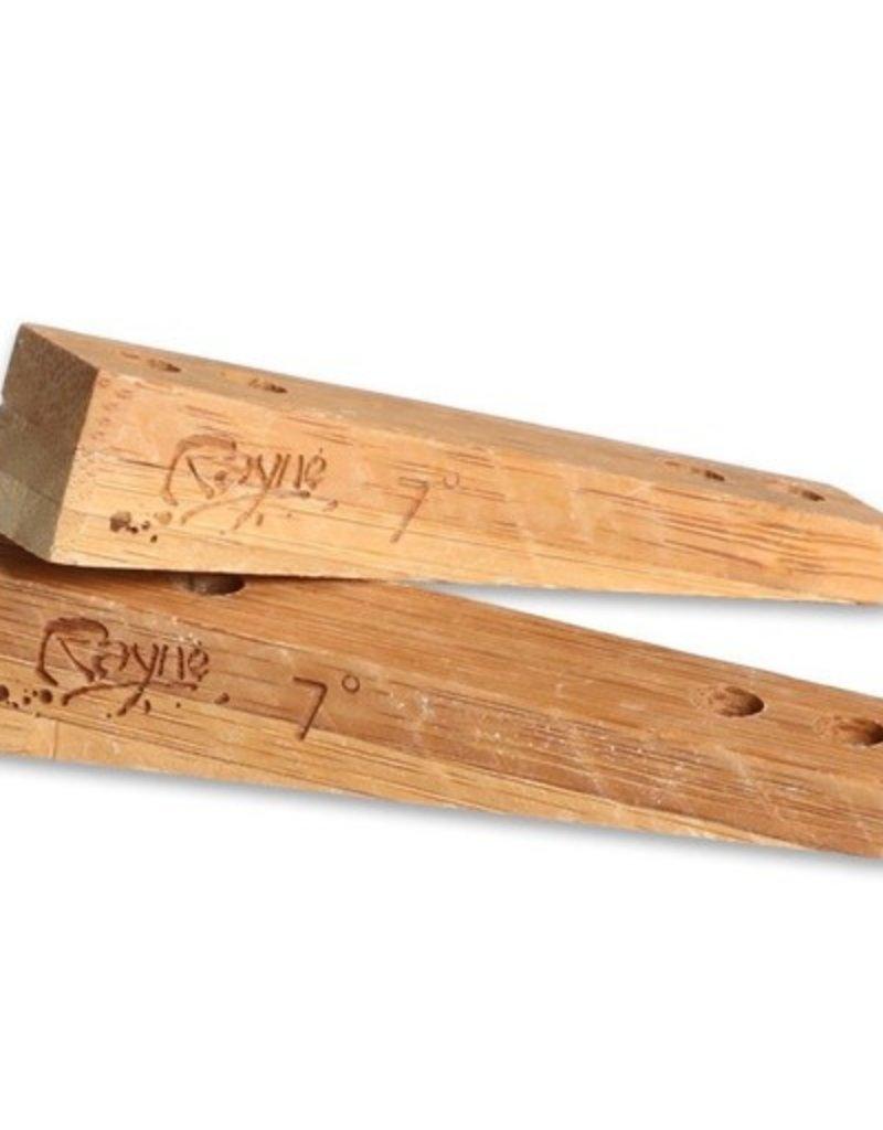 Rayne Rayne- Bamboo Rail Riser- 7º- Riser