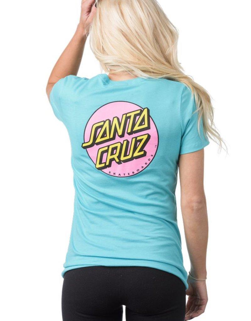Santa Cruz Santa Cruz- Other Dot- Short Sleeve- Fitted- Women's- T-Shirt