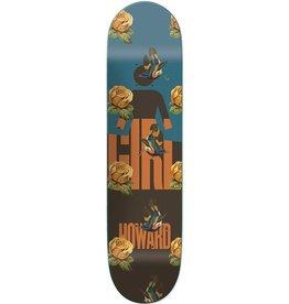 "Chocolate Girl- Sanctuary- Howard- 8.375"" x 31.75""- Deck"