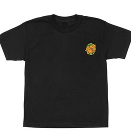 Santa Cruz Santa Cruz- Turtle Power- TMNT- Short Sleeve- Black- Juniors- T-Shirt