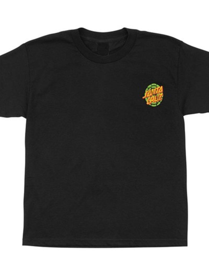 Santa Cruz Santa Cruz- Turtle Power- TMNT- Short Sleeve- Black- Men's- T-Shirt