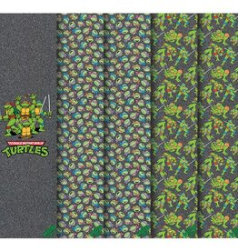 MOB MOB- TMNT- Ninja Turtles- Graphic grip- Sheet- 9x33in- Grip Tape
