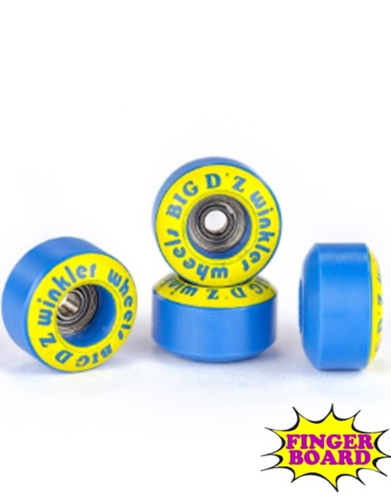 Winkler Wheels Blackriver- Winkler Wheels- Big Daddy Zs- Blue- FIngerboard Wheels