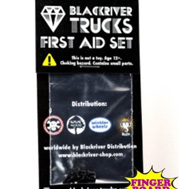 Blackriver- First Aid Kit- Screws- Black- Fingerboard Hardware