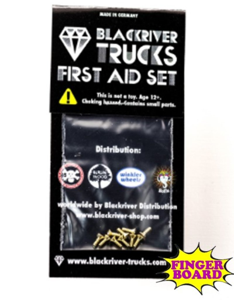 Blackriver- First Aid Kit- Screws- Fingerboard Hardware