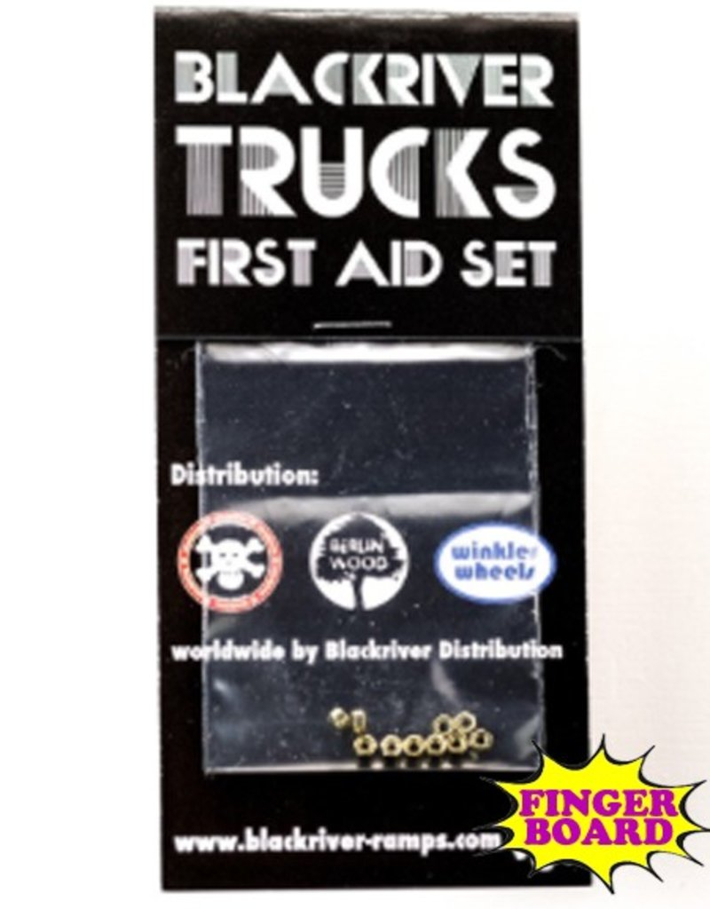 Blackriver- First Aid Kit- Nuts- Fingerboard Hardware
