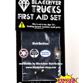 Blackriver- First Aid Kit- Lock Nuts 2pac - Fingerboard Hardware