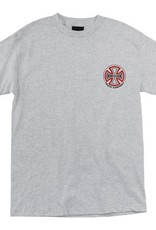 Independent Independent- Two Tone- Short Sleeve- Grey Heather- Youth- T-Shirt