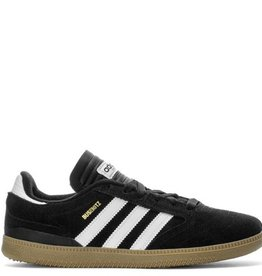 adidas Adidas- Busenitz- Junior- Suede- Black/White- Gum Sole- Skate Shoes