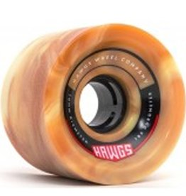 Landyachtz Landyachtz- 70's Hawgs- 70mm- 78a- Brown/White Swirl- Wheels