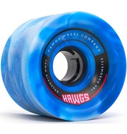 Landyachtz Landyachtz- 70's Hawgs- 70mm- 78a- Blue/White Swirl- Wheels