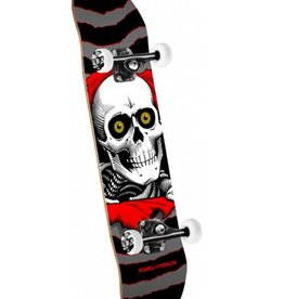 "Powell Peralta Powell Peralta- Ripper- One Off- Silver Black- 7"" x 28""- Complete"