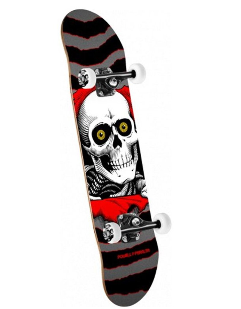 """Powell Peralta Powell Peralta- Ripper- One Off- Silver Black- 7"""" x 28""""- Complete"""
