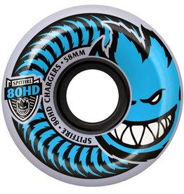 Spit Fire Spitfire- Charger Conical- 54mm- 80HD- Clear/Blue- Wheels