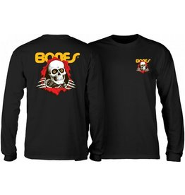 Powell Peralta Powell Peralta- Youth Ripper- Black- Long Sleeve T-shirt