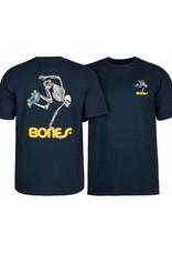 Bones Bones- Skateboard Skeleton- Youth- Navy- T-shirt