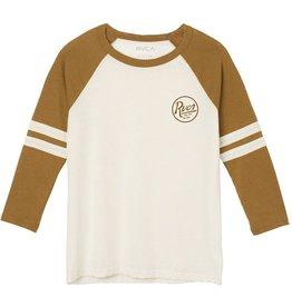 RVCA RVCA- Slite Script Raglan- Beewax- Women's- T-Shirt