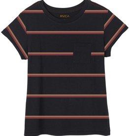 RVCA RVCA- Big Stripe SS- Women's- T-Shirt