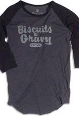 Devium Devium- Biscuits & Gravy- Raglan- Mens- Shirt