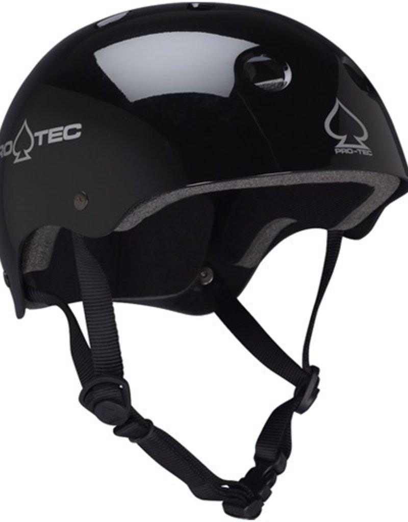Pro-Tec Pro-Tec- Classic Skate- Certified-  Gloss Black- Helmets