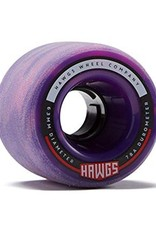 Landyachtz Landyachtz- Fattie Hawgs- Stone Ground- 63mm- 78a- Pink n Purple- Wheels