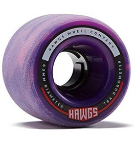 Landyachtz Landyachtz- Fattie Hawgs- Stone Ground- 63mm- 78a- Pink n Purple- Wheels