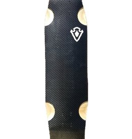 Ouray Longboards Ouray- Badfish 2.0- Carbon Bottom- 35 inches- 2017- Deck