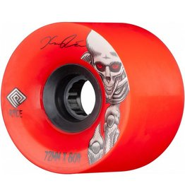 Powell Peralta Powell Peralta- Kevin Reimer Pro Downhill- 72mm- 80a- Red- Wheels