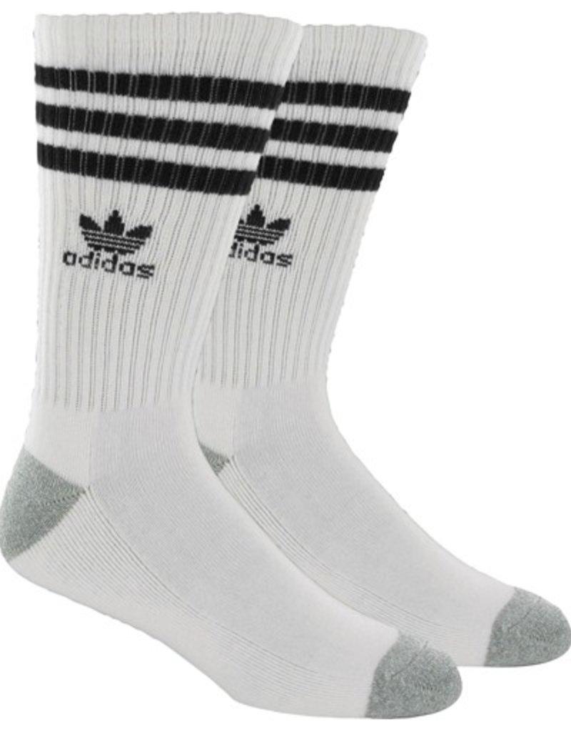 adidas Adidas- Stripes- White/Black- Men's- Socks
