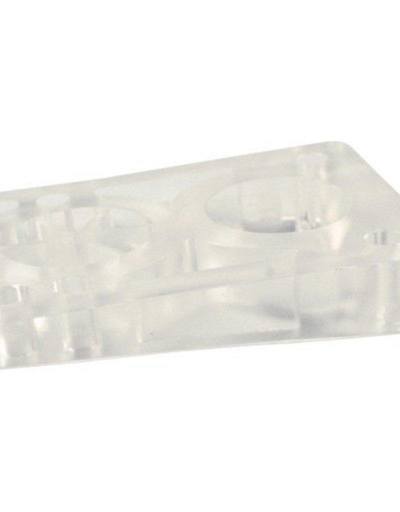 BOARDLife BOARDLife- Angled Wedge- Clear- 1/2 inch- Set of 2- Riser
