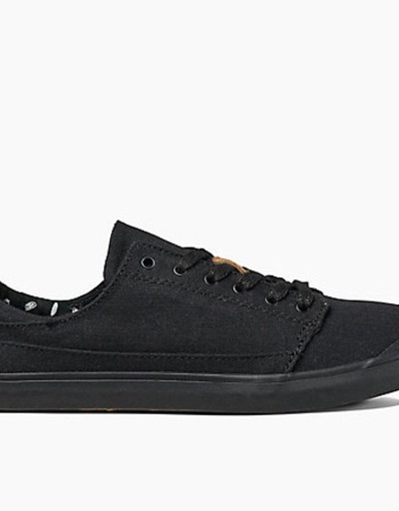 Reef Reef- Walled- Low- Women's Shoe- Black/Black