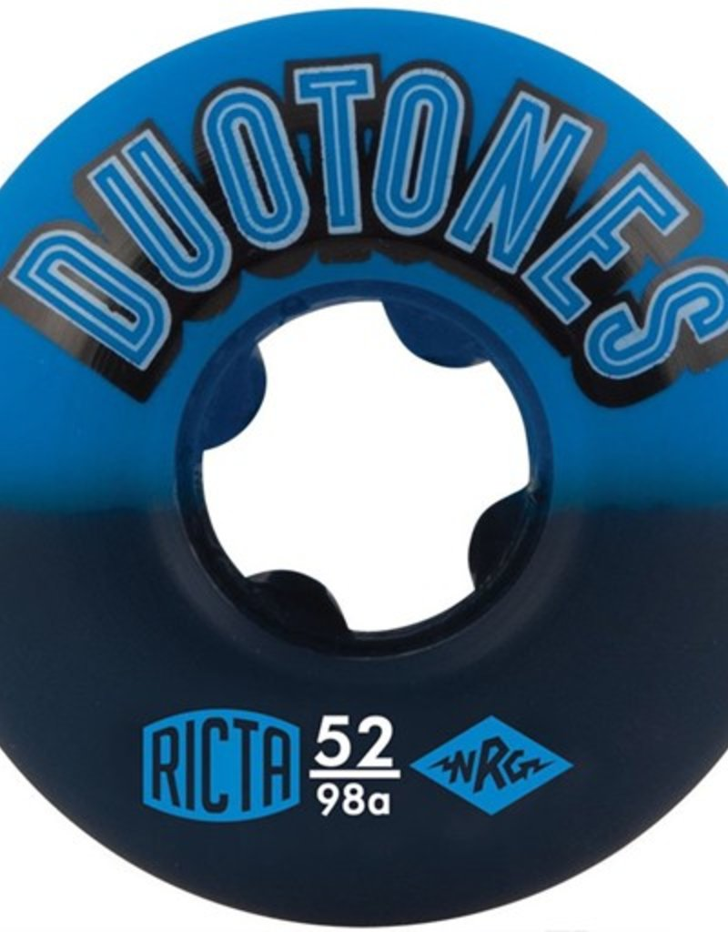 Ricta Ricta- Duo Tones- 52mm- 98a- Blue/Black- Wheels