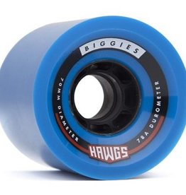 Landyachtz Landyachtz- Biggie Hawgs- 70mm- 78a- Blue- 2017- Wheels