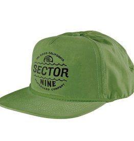 Sector 9 Sector 9- Cyclone- Green- 5 Panel Snapback- Hats