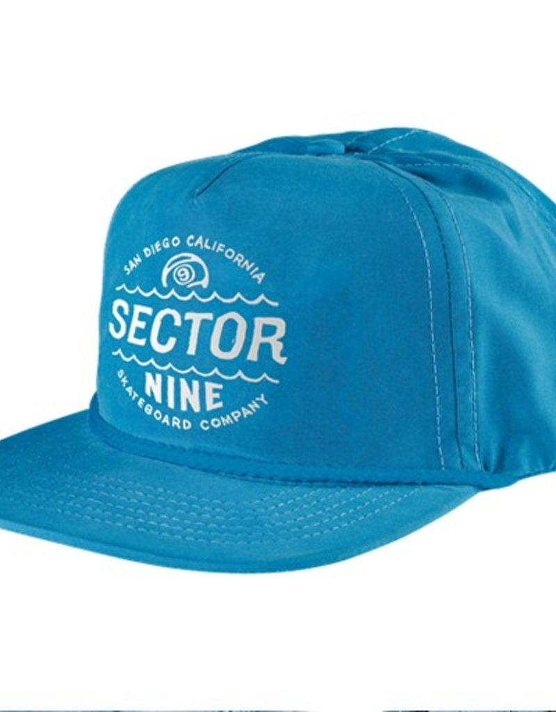 Sector 9 Sector 9- Cyclone- Blue- 5 Panel Snapback- Hats