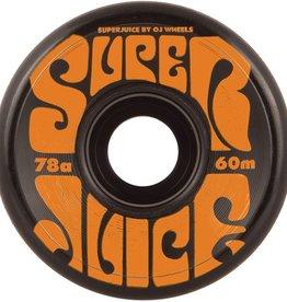 OJ OJ- Super Juice- 60mm- 78a- Black- Wheels