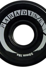 Paradise Wheels Paradise Wheels- Cruisers- 59mm- 78a- Black- Wheels