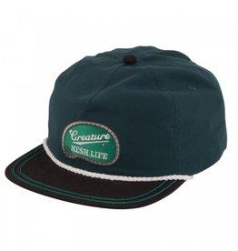 Creature Creature- Hesh Life- Snapback- Green/Black- Hat