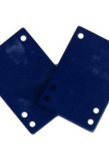 BOARDLife BOARDLife- Shock Pad- Soft- Blue- 1/8 inch- Set of 2- Riser
