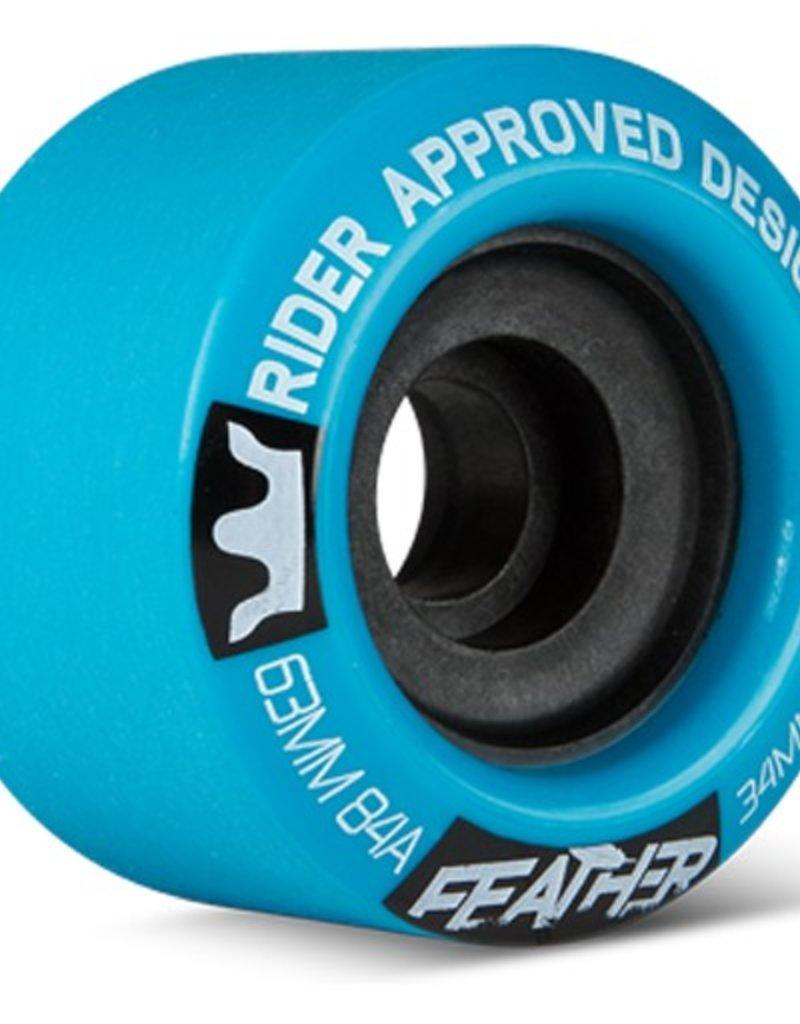 RAD RAD- Feather- 63mm- 84a- Blue- Wheels