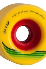 Orangatang Orangatang- The Cage- 73mm- 86a- Yellow- Wheel