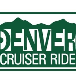 Denver Cruiser Ride- License Plate- 2012