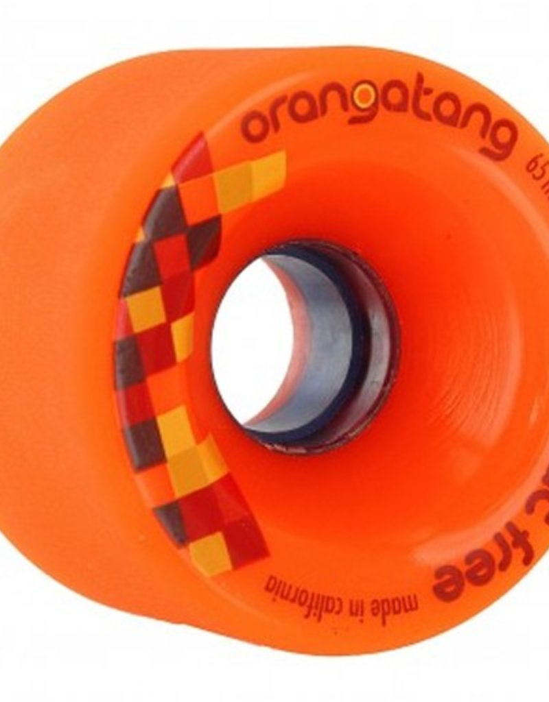 Orangatang Orangatang- Fat Free- 65mm- 80a- Orange- Wheel